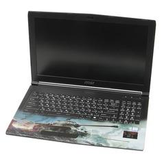 """Ноутбук MSI GP62M 7RDX(WOT Edition)-2097XRU, 15.6"""", Intel Core i7 7700HQ 2.8ГГц, 8Гб, 1000Гб, nVidia GeForce GTX 1050 - 2048 Мб, Free DOS, 9S7-16J9E2-2097, черный"""