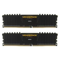 Модуль памяти CORSAIR Vengeance LPX CMK8GX4M2D2400C14 DDR4 - 2x 4Гб 2400, DIMM, Ret