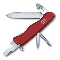 Складной нож VICTORINOX Adventurer, 11 функций, 111мм, красный [0.8453]