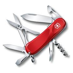 Складной нож VICTORINOX Evolution S14, 14 функций, 85мм, красный [2.3903.se]