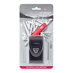 Складной нож VICTORINOX SwissChamp, 33 функций, 91мм, красный [1.6795.lb1]