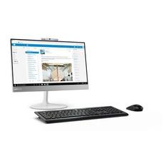 """Моноблок LENOVO V410z, 21.5"""", Intel Core i3 7100T, 4Гб, 500Гб, AMD Radeon 530 - 2048 Мб, DVD-RW, noOS, белый [10r60004ru]"""