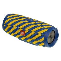 Портативная колонка JBL Charge 3 Zap, 20Вт, синий / желтый [jblcharge3zapeu]