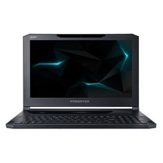 "Ноутбук ACER Predator Triton PT715-51-78SU, 15.6"", Intel Core i7 7700HQ 2.8ГГц, 16Гб, 512Гб + 512Гб SSD, nVidia GeForce GTX 1060 - 6144 Мб, Windows 10 Home, NH.Q2KER.003, темно-синий"
