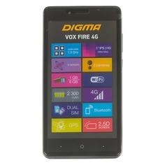 Смартфон DIGMA FIRE 4G VOX, серый