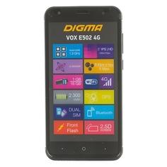 Смартфон DIGMA E502 4G VOX, черный