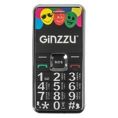 Мобильный телефон GINZZU MB505, черный