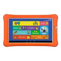 Детский планшет TURBO TurboKids 3G NEW 8Gb, Wi-Fi, 3G, Android 7.0, белый/оранжевый [рт00020453]