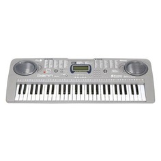 Синтезатор DENN DEK546, 54, невзвешенная, малоразмерные, 4, серый