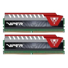 Модуль памяти PATRIOT Viper Elite PVE48G240C5KRD DDR4 - 2x 4Гб 2400, DIMM, Ret Патриот