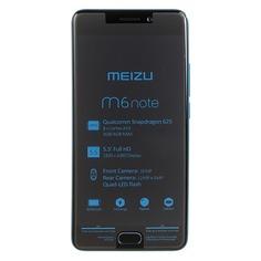 Смартфон MEIZU M6 Note 16Gb, M721H, синий