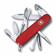 Складной нож VICTORINOX Super Tinker, 14 функций, 91мм, красный [1.4703]