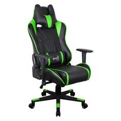 Кресло игровое AEROCOOL AC220 AIR-BG, на колесиках, ПВХ/полиуретан [516394]