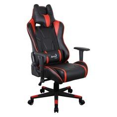Кресло игровое AEROCOOL AC220 AIR-BR, на колесиках, ПВХ/полиуретан [516386]