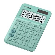 Калькулятор CASIO MS-20UC-GN-S-EC, 12-разрядный, зеленый