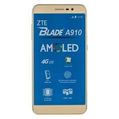 Смартфон ZTE Blade А910, золотистый