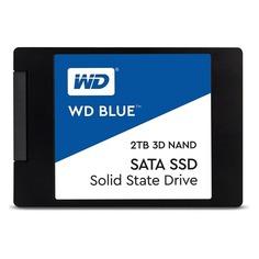 """SSD накопитель WD Blue WDS200T2B0A 2Тб, 2.5"""", SATA III"""