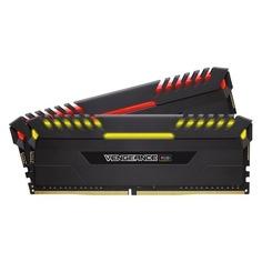Модуль памяти CORSAIR Vengeance RGB CMR16GX4M2C3000C15 DDR4 - 2x 8Гб 3000, DIMM, Ret