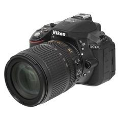 Зеркальный фотоаппарат NIKON D5300 kit ( AF-S DX NIKKOR 18-105mm f/3.5-5.6G ED VR), черный