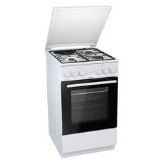 Газовая плита GORENJE KN5121WD, электрическая духовка, белый