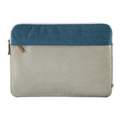 """Чехол для ноутбука 13.3"""" HAMA Florence, серый/зеленый [00101571]"""