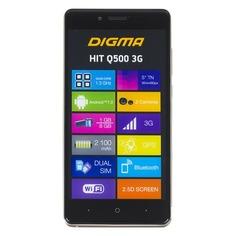 Смартфон DIGMA Q500 3G HIT, золотистый
