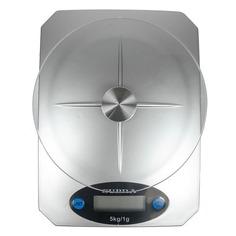 Весы кухонные SUPRA BSS-4041, серебристый