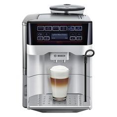 Кофемашина BOSCH TES60321RW, серебристый