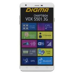 Смартфон DIGMA S501 3G + Navitel VOX, зеленый