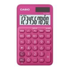 Калькулятор CASIO SL-310UC-RD-S-EC, 10-разрядный, красный