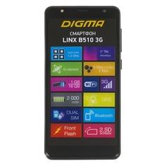 Смартфон DIGMA B510 3G LINX, черный