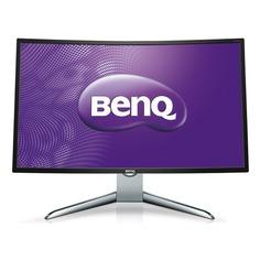 """Монитор ЖК BENQ EX3200R 31.5"""", черный и серебристый/черный [9h.lfcla.tse]"""