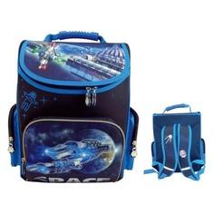 Ранец Silwerhof Space синий/голубой