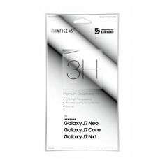 Защитная пленка для экрана SAMSUNG WITS для Samsung Galaxy J7 neo, прозрачная, 1 шт [gp-j700wsefaaa]