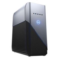 Компьютер DELL Inspiron 5680, Intel Core i7 8700, DDR4 16Гб, 2Тб, 128Гб(SSD), NVIDIA GeForce GTX 1060 - 6144 Мб, DVD-RW, Windows 10 Home, серебристый и черный [5680-7239]