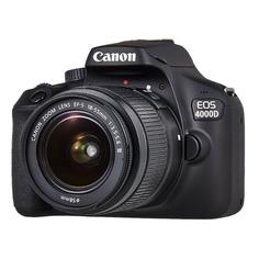 Зеркальный фотоаппарат CANON EOS 4000D KIT kit ( 18-55mm f/3.5-5.6), черный