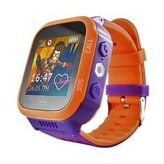 """Смарт-часы КНОПКА ЖИЗНИ Aimoto Start, 1.44"""", фиолетовый / оранжевый [9900107]"""