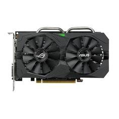 Видеокарта ASUS AMD Radeon RX 560 (16CU), ROG-STRIX-RX560-4G-GAMING, 4Гб, GDDR5, OC, Ret