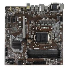 Материнская плата MSI B360M PRO-VDH, LGA 1151v2, Intel B360, mATX, Ret
