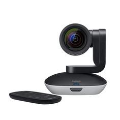 Web-камера LOGITECH Conference Cam PTZ Pro 2, черный и серебристый [960-001186]
