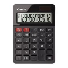Калькулятор CANON AS-130, 12-разрядный, черный