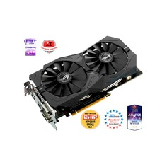 Видеокарта ASUS nVidia GeForce GTX 1050TI , STRIX-GTX1050TI-O4G-GAMING, 4Гб, GDDR5, OC, Ret