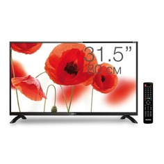 """LED телевизор TELEFUNKEN TF-LED32S43T2 """"R"""", 31.5"""", HD READY (720p), черный"""