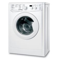 Стиральная машина INDESIT IWUD 4105, фронтальная загрузка, белый