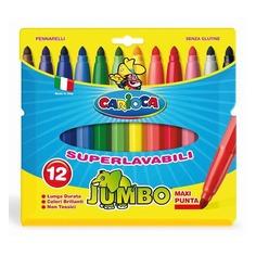 Фломастеры Carioca JUMBO 40565 12цв. блистер