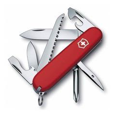 Складной нож VICTORINOX Hiker, 13 функций, 91мм, красный [1.4613]