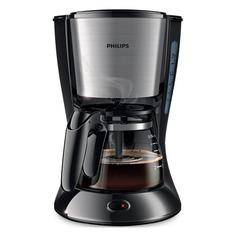 Кофеварка PHILIPS HD7434/20, капельная, черный