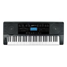 Синтезатор DENN DEK612, 61, невзвешенная, полноразмерные, 16, черный