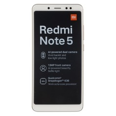 Смартфон XIAOMI Redmi Note 5 32Gb, золотистый