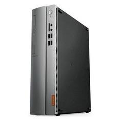 Компьютер LENOVO IdeaCentre 310S-08IAP, Intel Pentium J4205, DDR3 4Гб, 500Гб, Intel HD Graphics 505, DVD-RW, CR, Free DOS, черный и серебристый [90ga000drs]